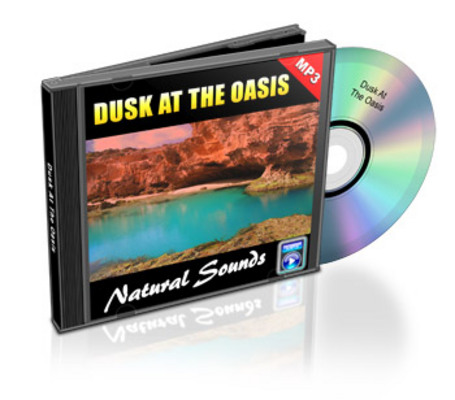 Pay for Natural Sounds: Dusk At The Oasis - Royalty Free MP3
