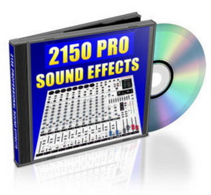 Pay for 2150 Royalty Free Professional Sound Effects