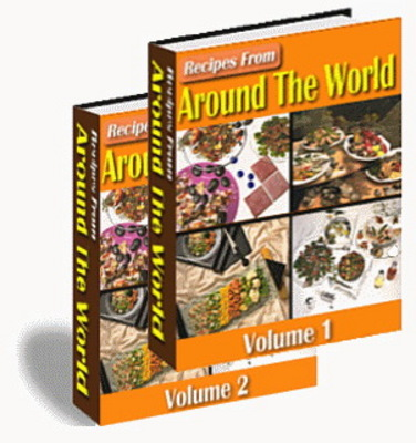 Pay for Over 1000 Tasty Recipes From Around The World 1 & 2