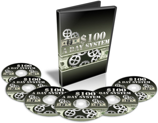Pay for $100 A Day System Video Course with Master Resale Rights