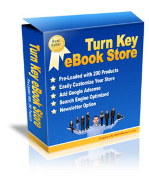 Pay for Turnkey Ebooks Store with resell Rights