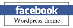 Thumbnail Facebook Fan Pages WordPress Theme W Push Button Revealed