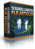 Thumbnail 150 Business & Marketing PLR Articles
