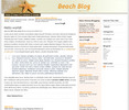 Thumbnail Wordpress Beachblog Template