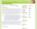 Thumbnail Wordpress Business Blog Template/Theme
