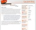 Thumbnail Wordpress Car Blog Template/Theme