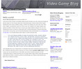 Thumbnail Wordpress gaming related Blog Template/Theme