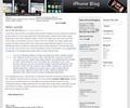 Thumbnail Wordpress iPhone related Blog Template/Theme