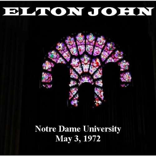 Pay for Elton John - Notre Dame, South Bend, IN 1972