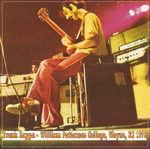 Pay for Frank Zappa - William Patterson College, Wayne, Nj 1973
