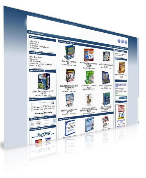 Pay for ONLINE EBOOKS STORE! PRELAODED WITH 200 EBOOKS! RESELL RIGHT