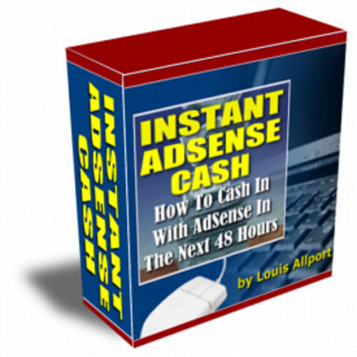 Pay for INSTANT ADSENSE CASH IN 48 HOURS.GUARANTEED!