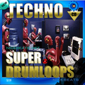 Thumbnail NiceBytes TECHNO DrumLoops (AppleLoops for GarageBand | Logic)