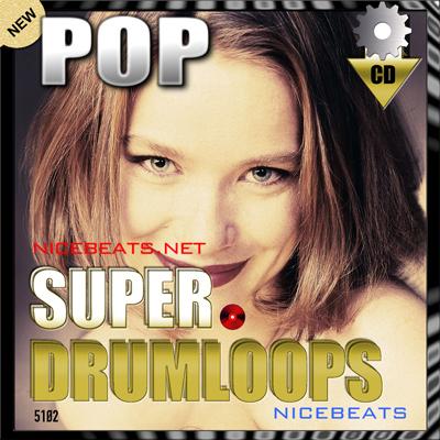 Pay for NiceBytes POP DrumLoops (AppleLoops for GarageBand | Logic)
