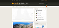 Thumbnail Premium Wordpress Theme Freshnews