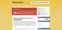 Thumbnail Premium Wordpress Theme Mainstream
