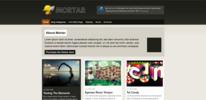 Thumbnail Premium Wordpress Theme Mortar