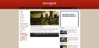 Thumbnail Premium Wordpress Theme Newsport