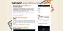 Thumbnail Premium Wordpress Theme Rockstar