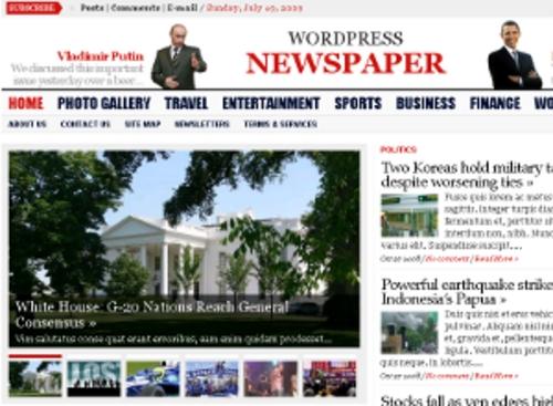Pay for advanced newspaper Premium Theme From Gabfirethemes
