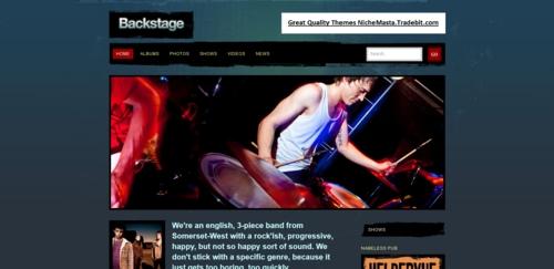 Pay for Backstage Premium Wordpress Theme