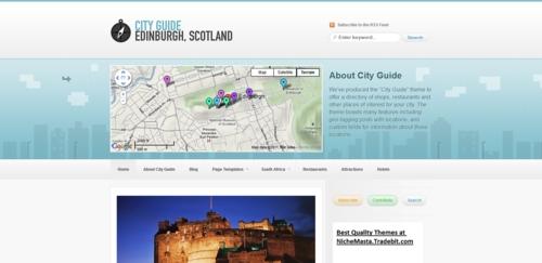 Pay for Cityguide premium wordpress theme