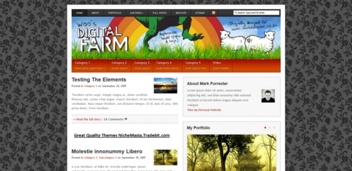 Pay for Premium Wordpress Theme Digital Farm