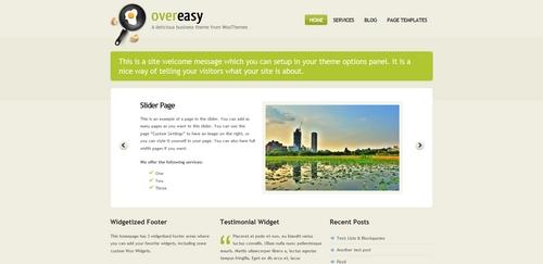 Pay for Premium Wordpress Theme Overeasy