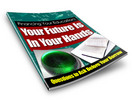 Thumbnail Your Future is In Your Hands