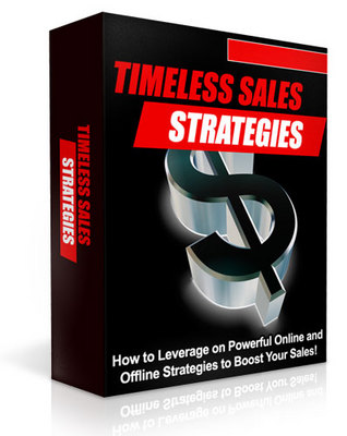 Pay for *NEW* Timeless Sales Strategies -With Private Label Rights*