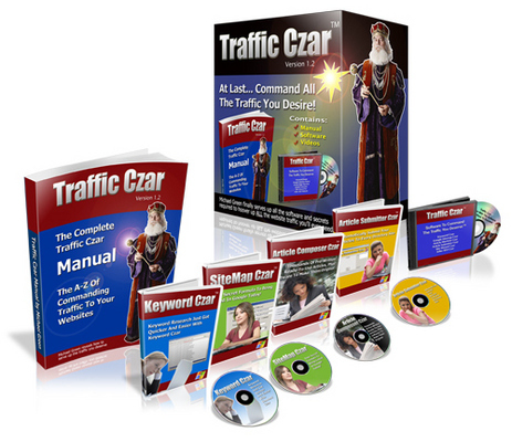 Pay for Traffic Czar with MRR Master Resale Rights