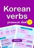 Thumbnail Korean Verbs Practice Workbook