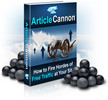 Thumbnail Article Cannon - Make Money Online With Article Marketing