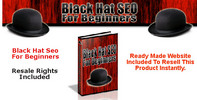 Thumbnail Black Hat SEO For Beginners (Resale Rights included)