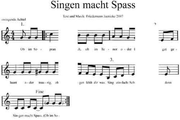 Pay for Singen macht Spass