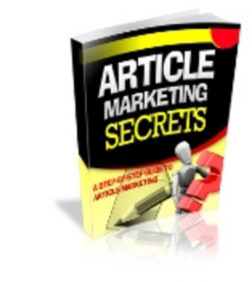 Pay for Article Marketing Secrets **Full Master Resell Rights**