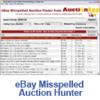 Thumbnail EBAY MISSPELLED AUCTION HUNTER