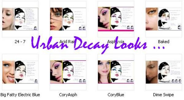 Pay for Urban Decay , Hard Candy and More .. Looks , Face Charts , Tip and Tricks