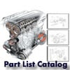 Thumbnail Ducati Monster 400 Metallic Part List Catalog Manual 2001