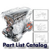 Thumbnail Ducati Monster 750 Dark Part List Catalog Manual 2000