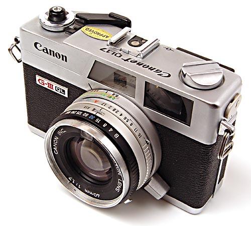 Canon Canonet G3 17 G Iii 17 Camera Service Repair Manual Tradebit