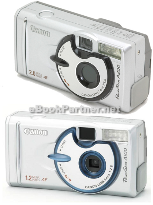 Pay for Canon PowerShot A100 A200 Camera Service Repair Manual