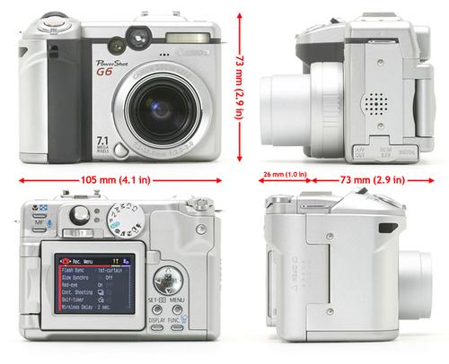 Pay for Canon PowerShot G6 Digital Camera Service Repair Manual