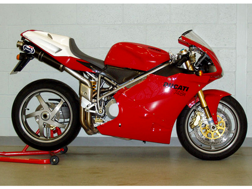 Pay for Ducati 748 R 748R Part List Catalog Manual 2001-2002