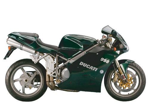 Pay for Ducati 998 Matrix Spare Parts List Catalog Manual 2004