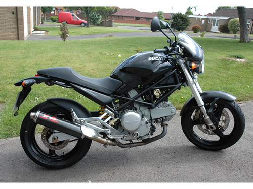 Ducati Monster Parts List