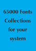 Thumbnail 65000 Fonts Collection