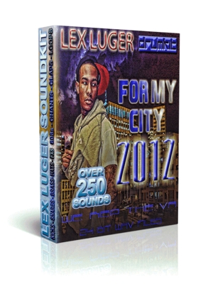 Pay for Lex Luger Sound Kit For My City 2012