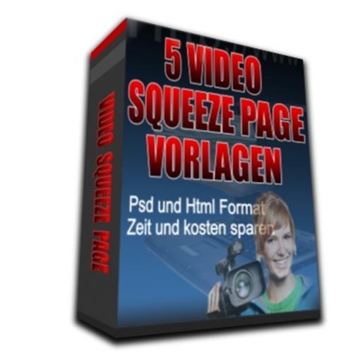 Pay for 5 Video Squeeze Page Vorlagen, PLR, Master Reseller Rechte