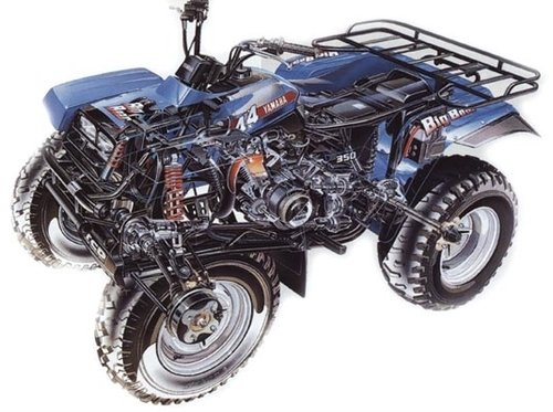 1987 1990 yamaha moto 4 350 yfm350er service manual and atv down rh tradebit com 1994 Yamaha Moto 4 350 1990 Yamaha Moto 4 350